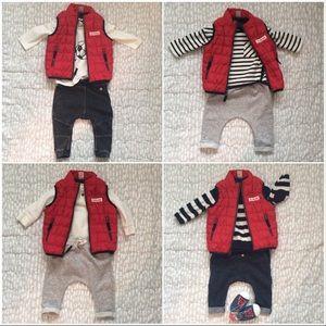 LIKE-NEW | Carter's | Baby Boy lightweight VEST